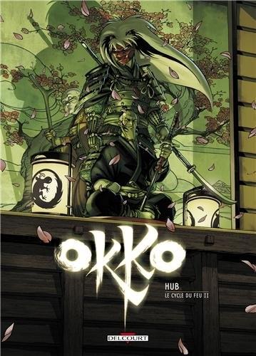 Couverture Okko, tome 08 : Le cycle du feu, partie 2