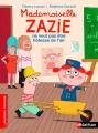 Couverture Mademoiselle Zazie ne veut pas être hôtesse de l'air Editions Nathan (Premiers romans) 2014