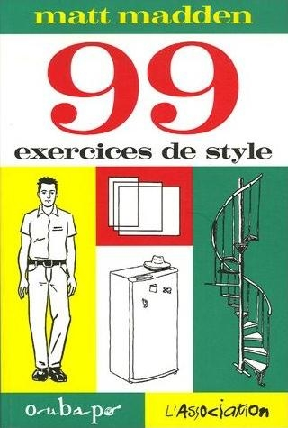 Couverture 99 exercices de style