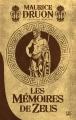 Couverture Les Mémoires de Zeus Editions Bragelonne (10e anniversaire) 2014