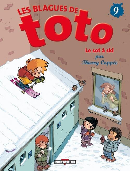 Couverture Les blagues de Toto, tome 09 : Le sot à ski