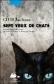 Couverture Sept yeux de chats Editions Philippe Picquier (Corée) 2014