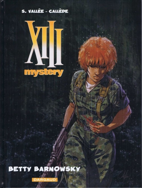 Couverture XIII mystery, tome 07 : Betty Barnowsky