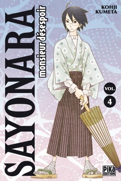 Couverture Sayonara Monsieur Désespoir, tome 04