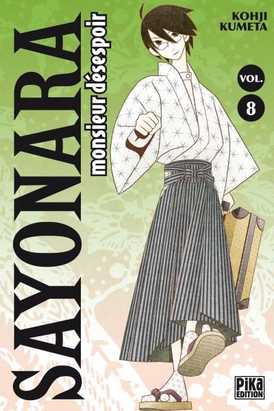 Couverture Sayonara Monsieur Désespoir, tome 08