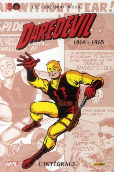 Couverture Daredevil, intégrale, tome 01 : 1964-1965
