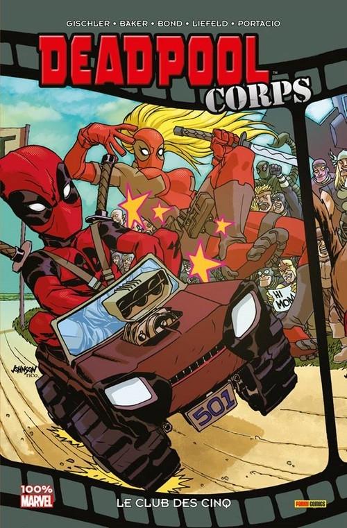 Couverture Deadpool Corps, tome 0 : Le club des cinq
