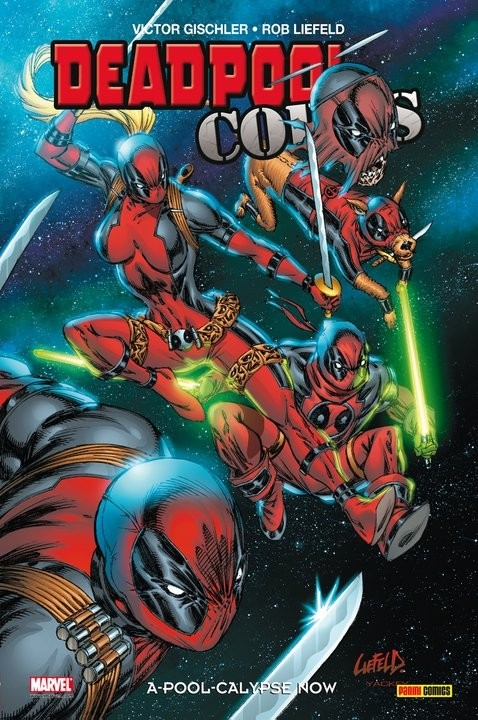 Couverture Deadpool Corps, tome 1 : A-pool-calypse now