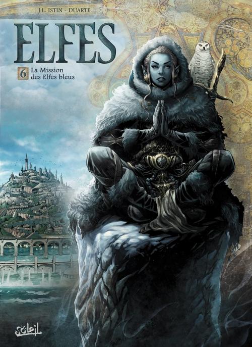 Couverture Elfes, tome 06 : La mission des elfes bleus
