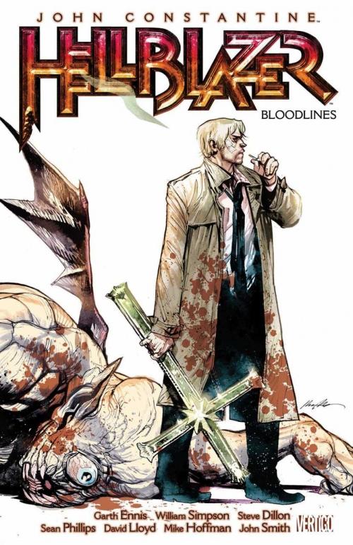 Couverture Hellblazer (Vertigo), book 06: Bloodlines