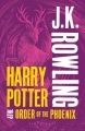 Couverture Harry Potter, tome 5 : Harry Potter et l'ordre du phénix Editions Bloomsbury 2013