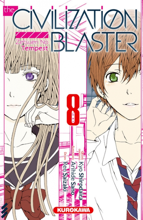 Couverture The civilization blaster, tome 08