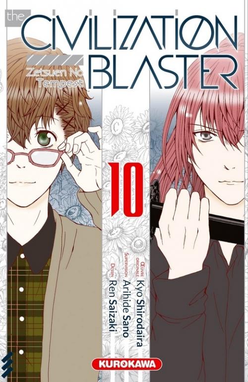 Couverture The civilization blaster, tome 10