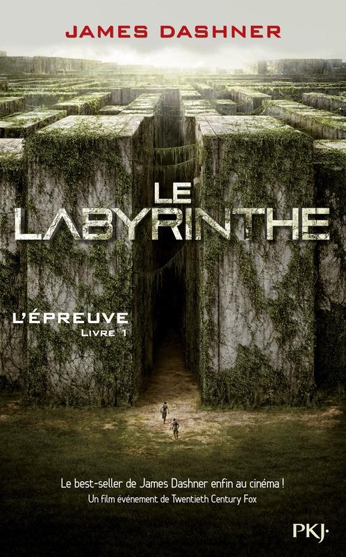 Couverture L'épreuve, tome 1 : Le labyrinthe