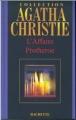 Couverture L'Affaire Protheroe Editions Hachette (Agatha Christie) 2004