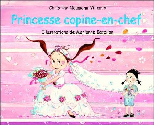 Couverture Princesse copine-en-chef