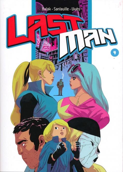 Couverture Lastman, tome 04