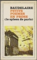 Couverture Le spleen de Paris / Petits poèmes en prose Editions Flammarion 1967