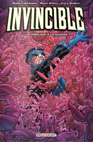 Couverture Invincible, tome 13 : Prélude à la guerre
