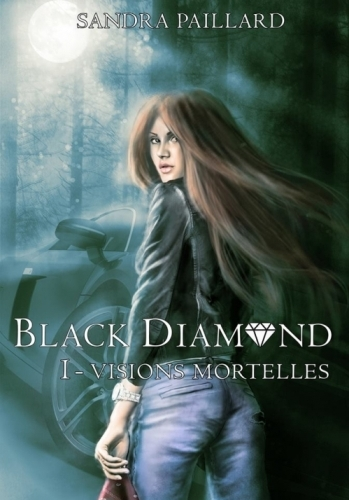 Couverture Black Diamond, tome 1 : Visions Mortelles