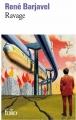 Couverture Ravage Editions Folio  (SF) 2014