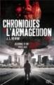 Couverture Chroniques de l'Armageddon, tome 1 Editions Eclipse (Horreur) 2012