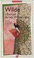Couverture L'Éventail de Lady Windermere Editions Flammarion (GF - Bilingue) 2012