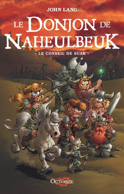 Couverture Le donjon de Naheulbeuk (Romans), tome 3 : Le conseil de Suak