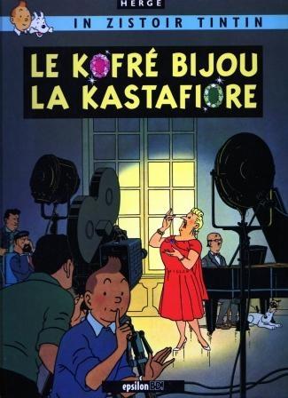 Couverture Les aventures de Tintin, tome 21 : Les Bijoux de la Castafiore