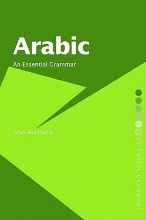 Couverture Arabic : An Essential Grammar