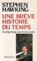Couverture Une brève histoire du temps Editions Flammarion 1989