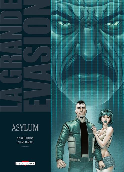 Couverture La grande évasion, tome 7 : Asylum