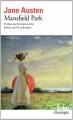 Couverture Mansfield park Editions Folio  (Classique) 2014