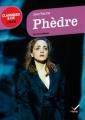 Couverture Phèdre Editions Hatier (Classiques & cie - Lycée) 2011