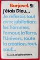 Couverture Si j'étais dieu... Editions Garnier 1976