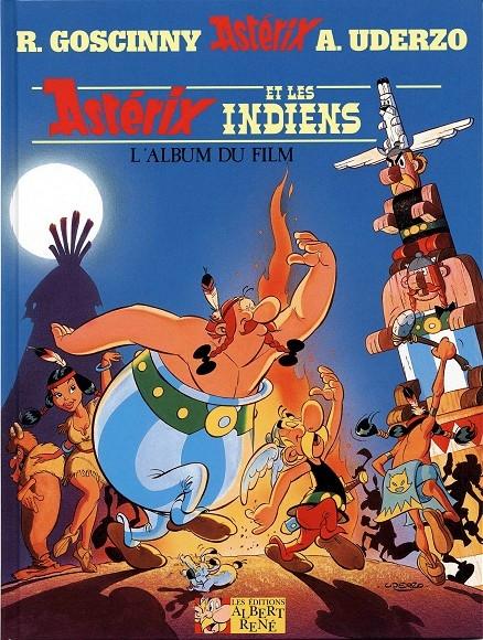Couverture Astérix et les indiens