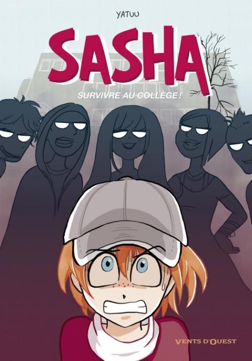 Couverture Sasha, survivre au collège !