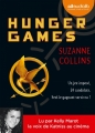Couverture Hunger games, tome 1 Editions Audiolib (Suspense) 2014