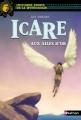 Couverture Icare aux ailes d'or Editions Nathan (Histoires noires de la mythologie) 2014