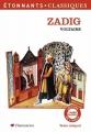 Couverture Zadig / Zadig ou la destinée Editions Flammarion (GF - Etonnants classiques) 2007