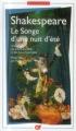 Couverture Le songe d'une nuit d'été Editions Flammarion (GF - Bilingue) 2014