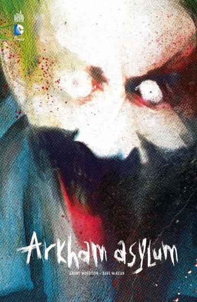 Couverture Batman : L'asile d'Arkham / Arkham Asylum