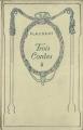 Couverture Trois contes Editions Nelson 1911