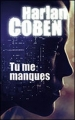 Couverture Tu me manques Editions France Loisirs 2014