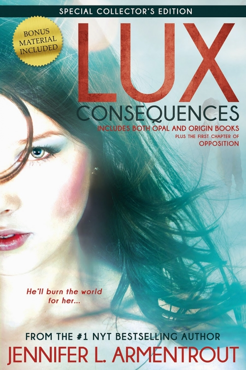 Couverture Lux (tomes doubles), tome 2 : Lux Consequences (Opal & Origin)