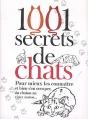 Couverture 1001 secrets de chats Editions Prat 2011