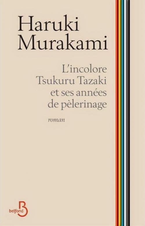 Couverture L'incolore Tsukuru Tazaki et ses années de pèlerinage