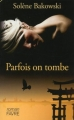 Couverture Parfois on tombe Editions Favre 2014