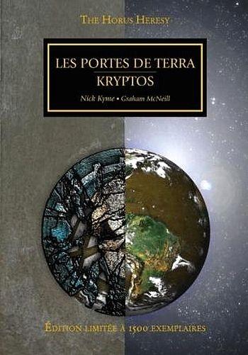 Couverture L'Hérésie d'Horus, tome hs : Les portes de Terra, Kryptos