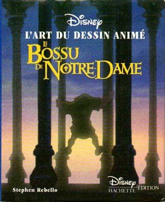 Couverture L'art du dessin animé : Le Bossu de Notre Dame